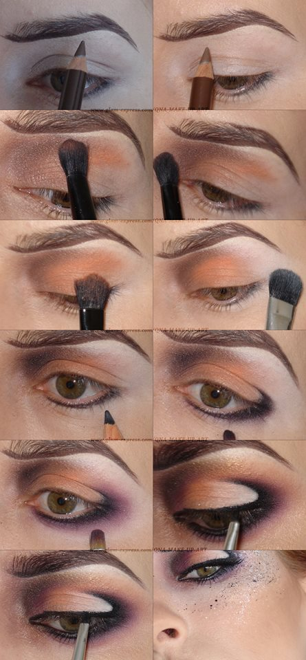 Impressive Bronzed Paint Splatter Makeup Tutorial