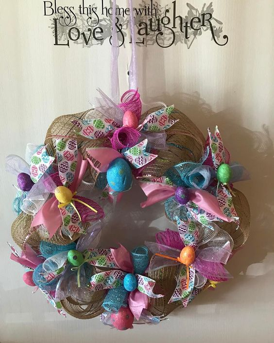 Impressive Wreath For Easter To Make Your Day
