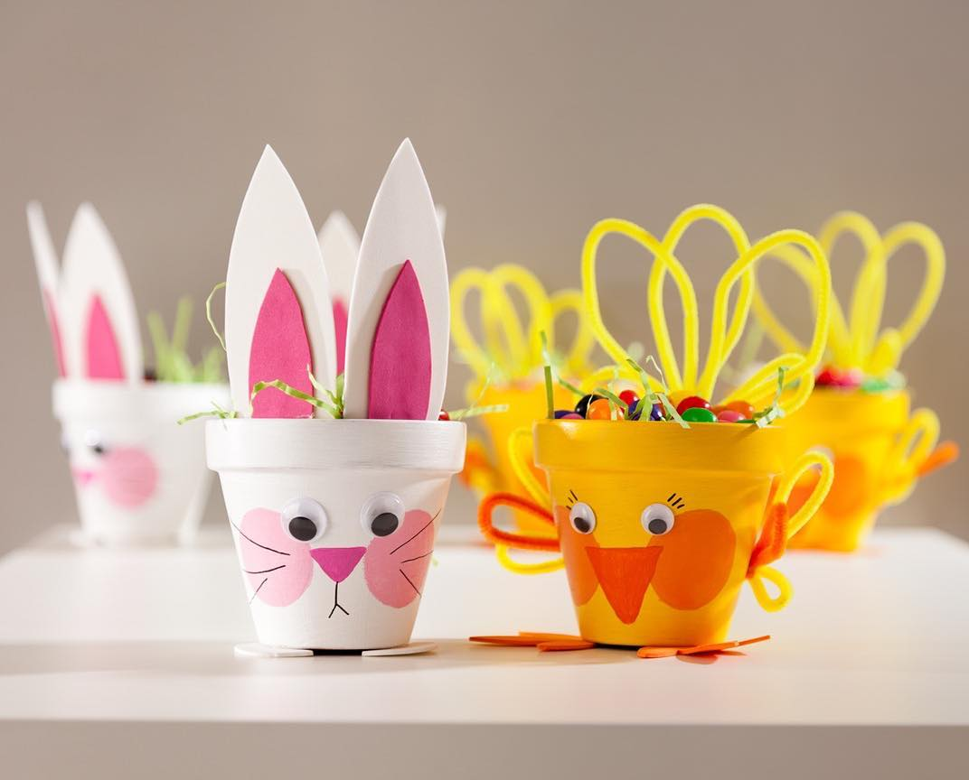 Jelly Beans Funny Easter Craft