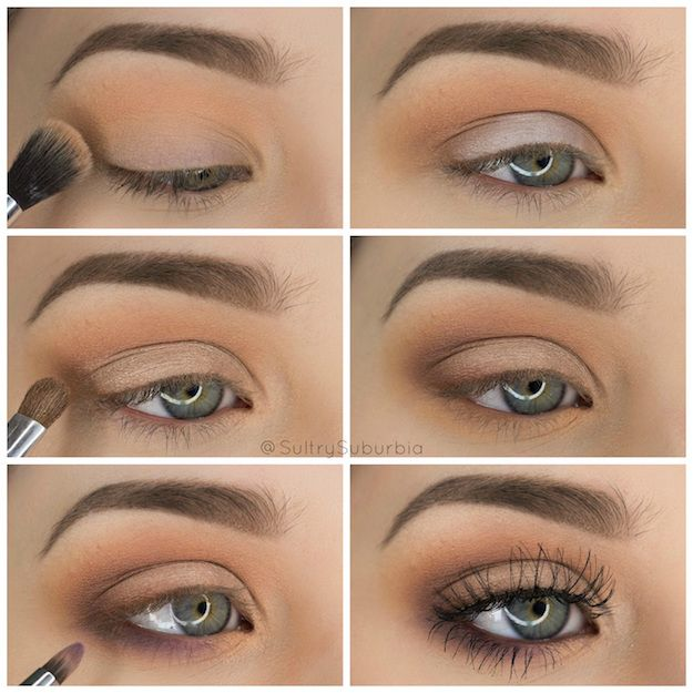 Light Eye Makeup For Green Eyes