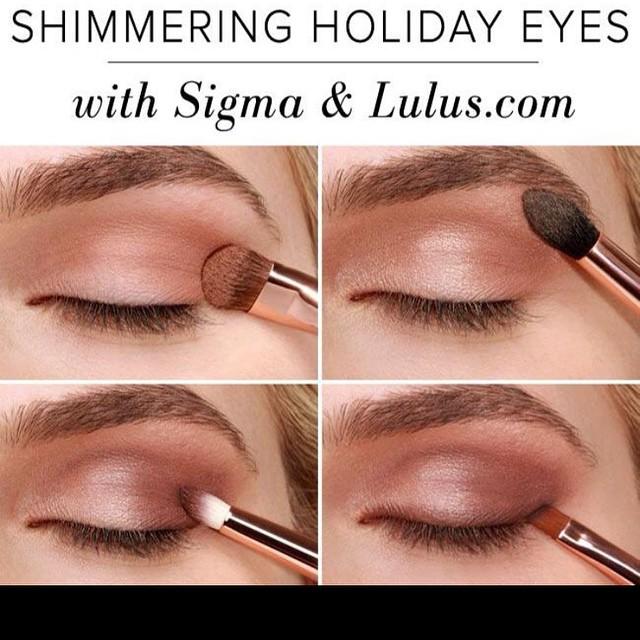 Lovely Shimmer Summer Eye Makeup Tutorial