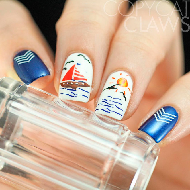 Marvelous Beach Nails