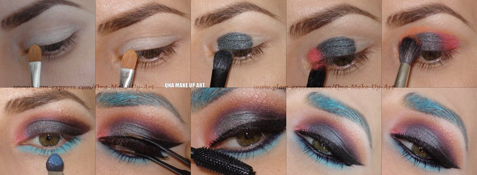 Marvelous Party Makeup For Summer Night Out