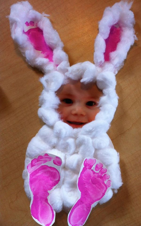 Mesmerizing Cotton Bunny With Photo For A Perfect Easter