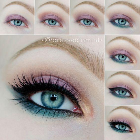 Mesmerizing Summer Eye Makeup