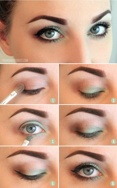 Moss Inspiring Makeup For Summer