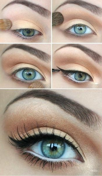 Natural Summer Eye Makeup Tutorial