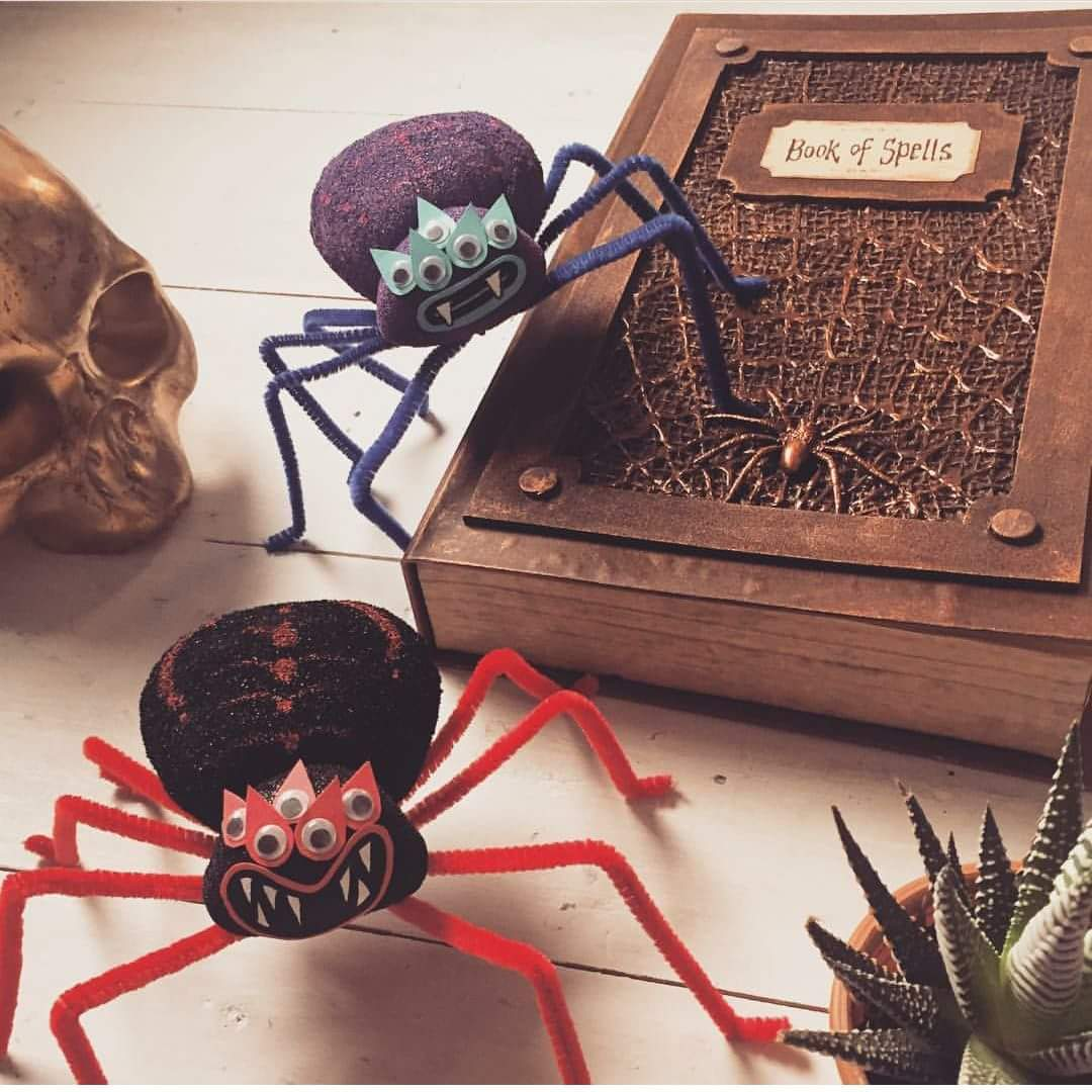 Nice Aragog Inspired Pipe Cleaner Spider Craft Toy
