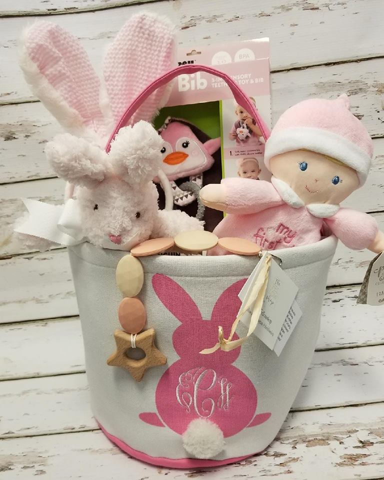 Nice Easter Basket For Baby