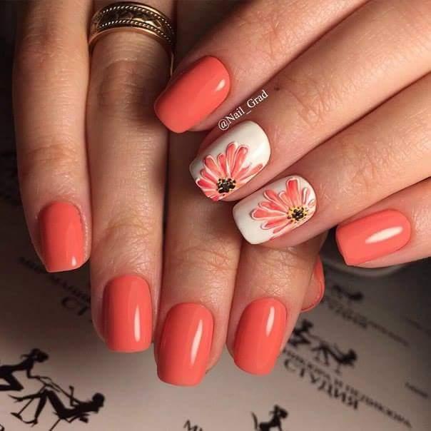 60 Beautiful Spring And Summer Nail Art Designs