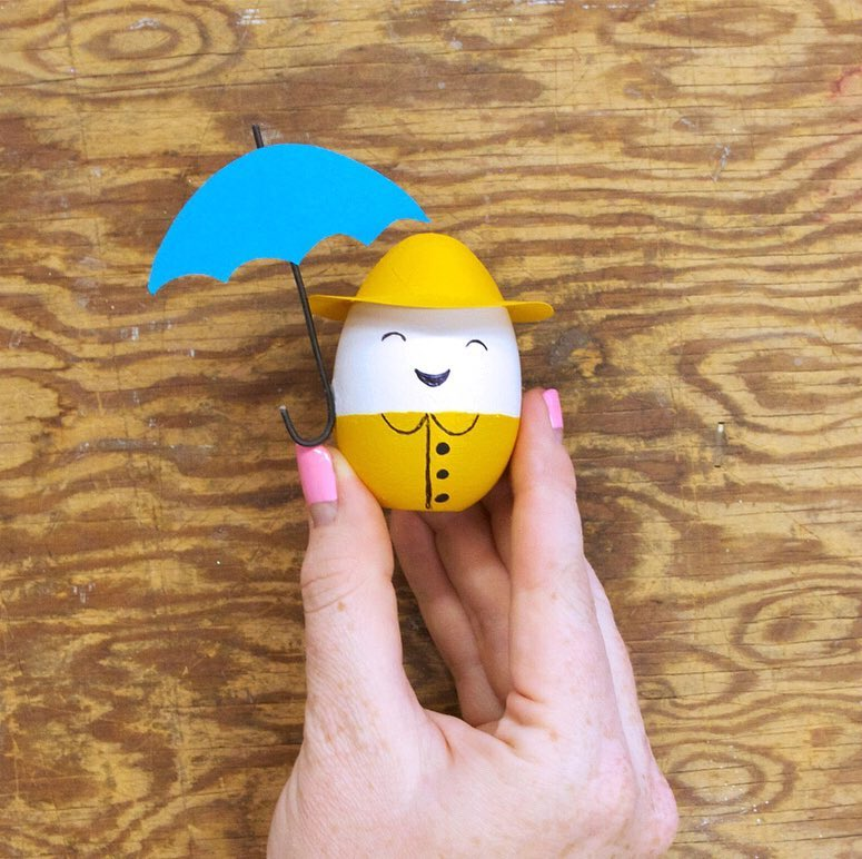 Paper Craft To Decorate Egg