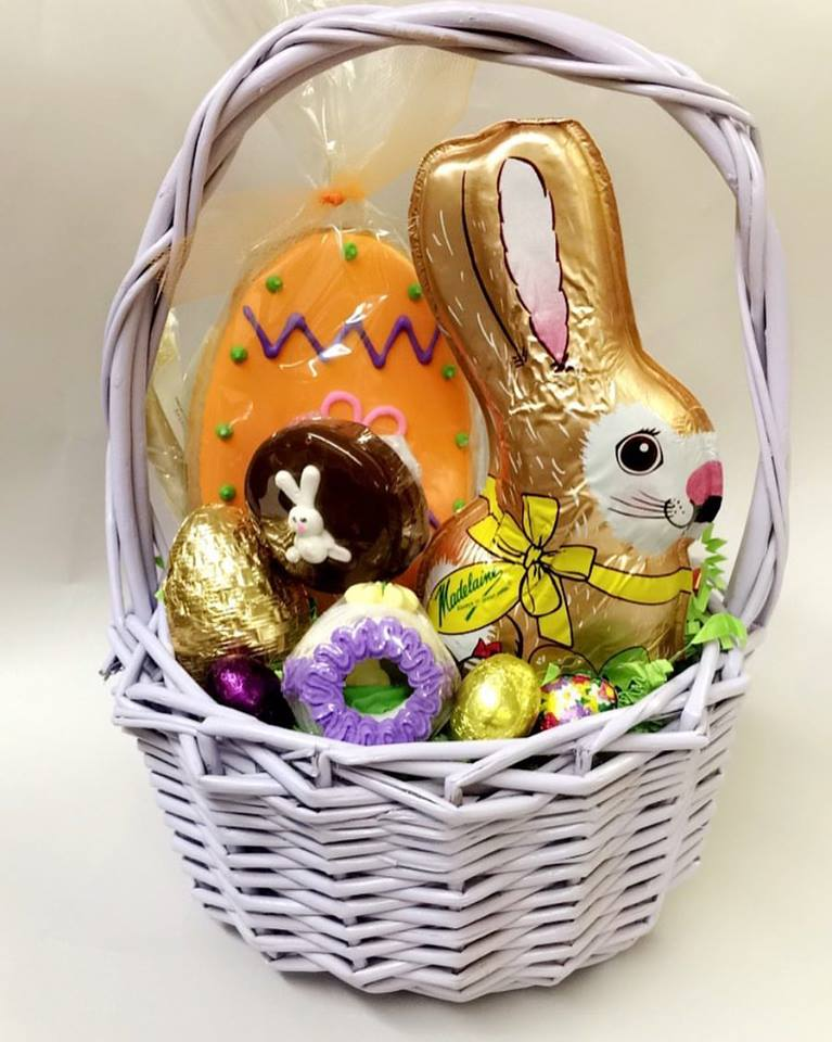 Personalized Easter Baskets For Chocolate And Bunny
