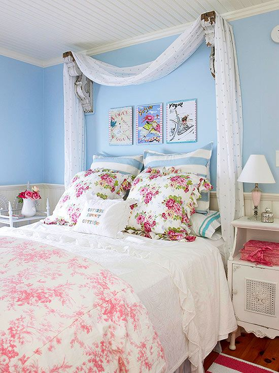 Check these Amazing Pink Floral Bedroom Ideas Photos - See Me Get ...
