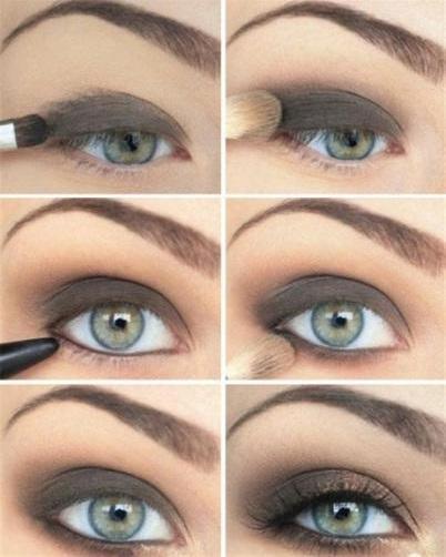 Ravishing Black & Brown Smokey Eyes
