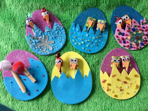 Ravishing Colorful Easter Egg Envelope With Lollipops For Kids