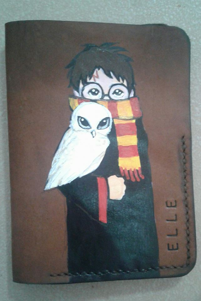 Rocking Customized Passport Holder For Harry Potter Fans