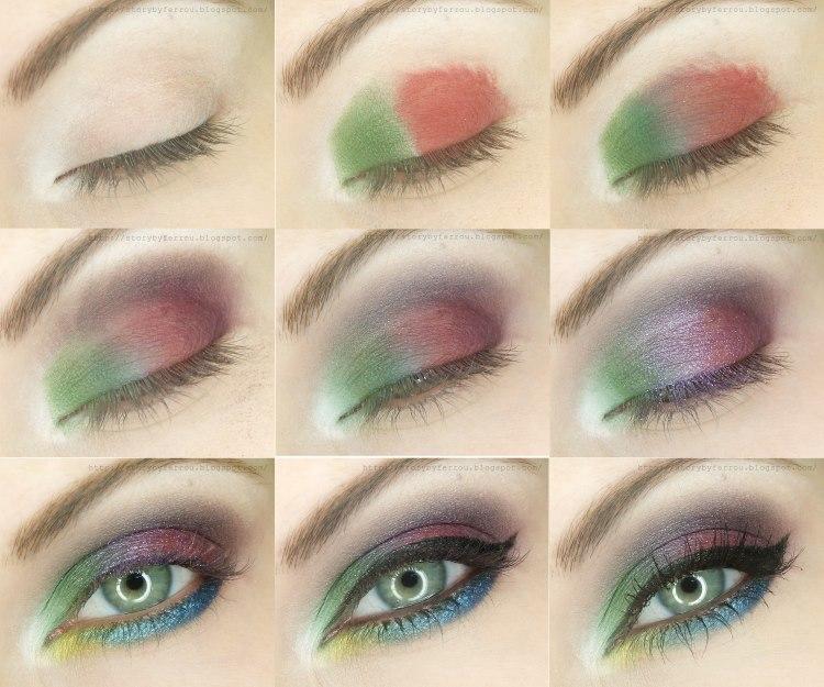 Rocking Summer Evening Eye Makeup Tutorial