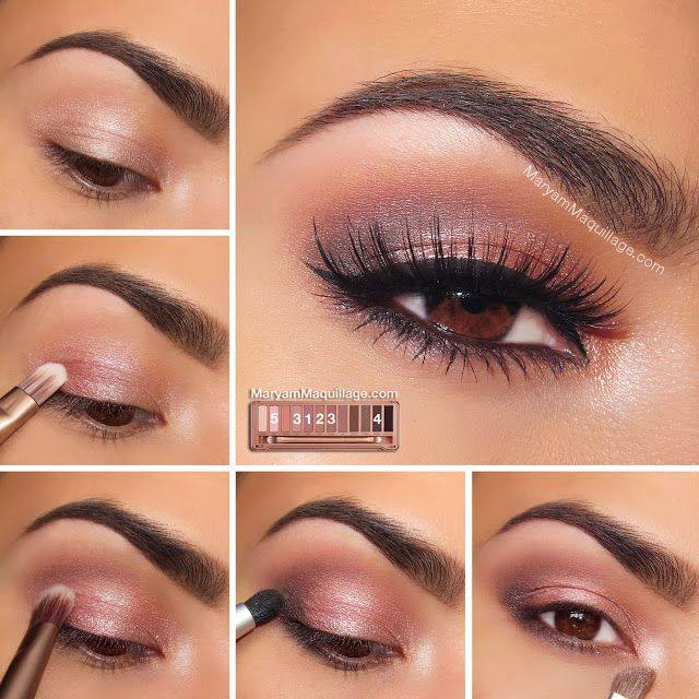 Romantic Rosy Smokey Eye Makeup Perfect For Summer Date