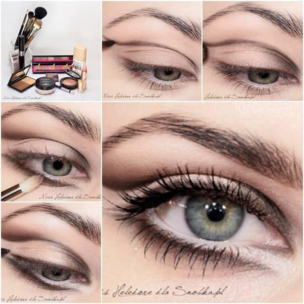 Sugar Brown Eye Makeup For Warm Day