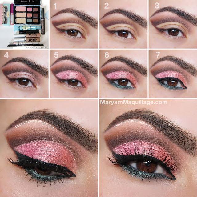 Trendy Summer Eye Makeup Tutorial