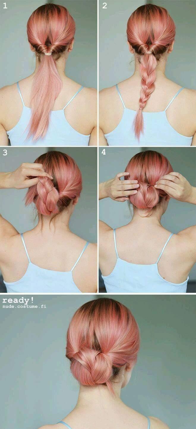 10+ Everyday Hair Updo Tutorials For Summer