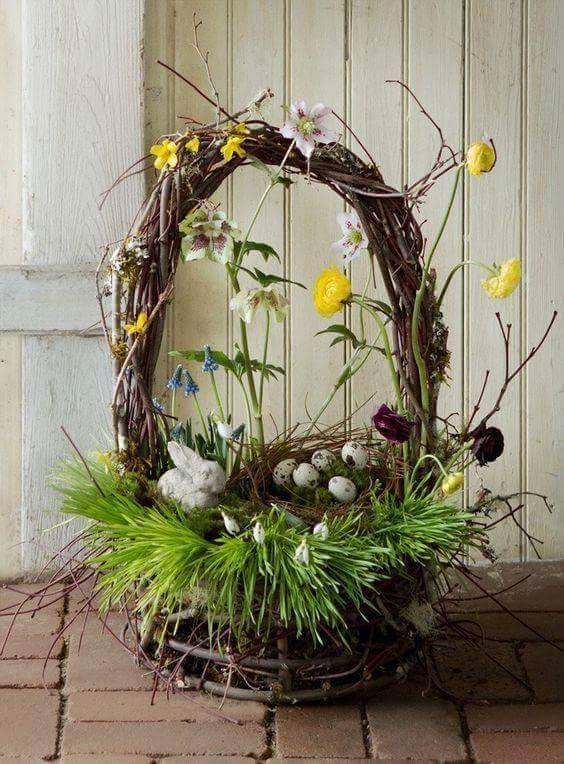 Wonderful Idea To Designed Bird's Nest As Basket