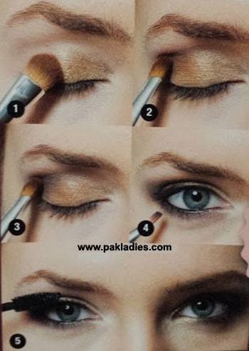Wonderful Summer Night Eye Makeup