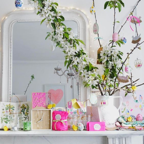 Wonderful Table Decor To Welcome Spring