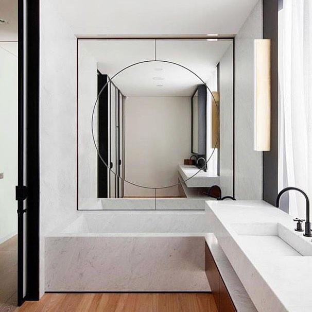 Alluring Wall Bathroom Mirror Design