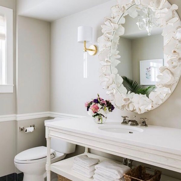 Amazing Coral Inspired Mirror To Bring Coastal Feeling