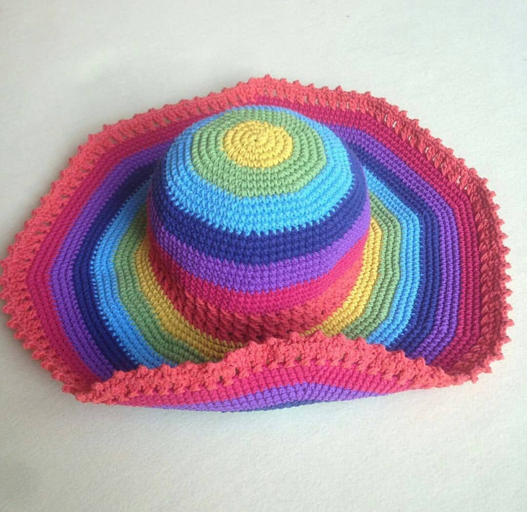 Awesome Colorful Handmade Hat For Summer