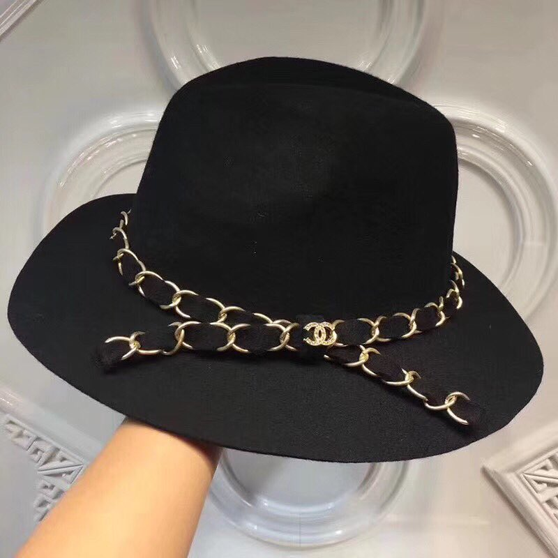 Black Hat With Chanel Over It