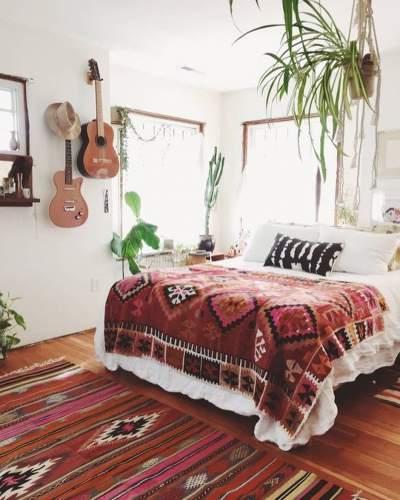 Boho Style Inspired Summer Bedroom Decor Idea