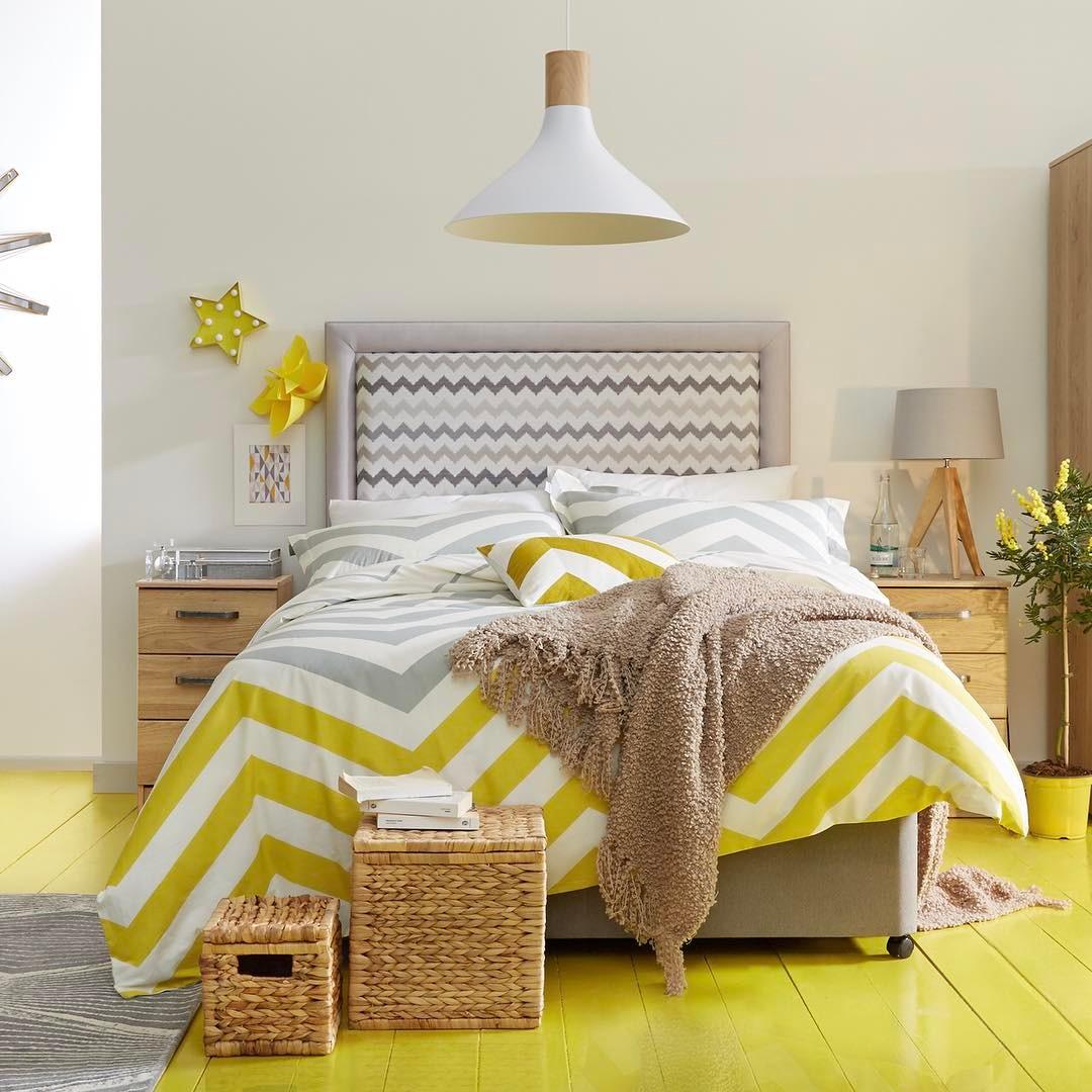 Bright Bedroom For Summer