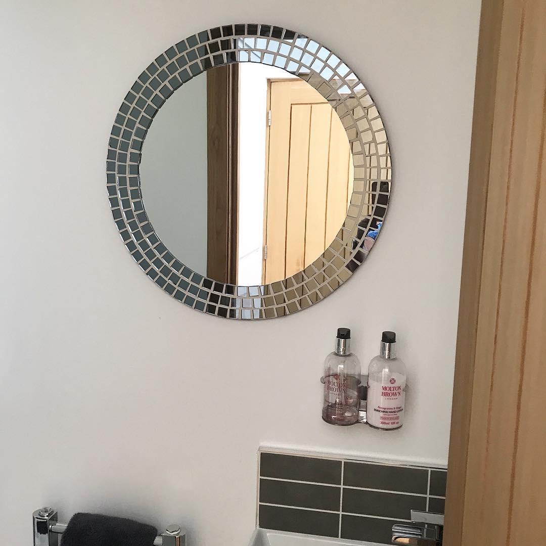 Charismatic Round Mirror