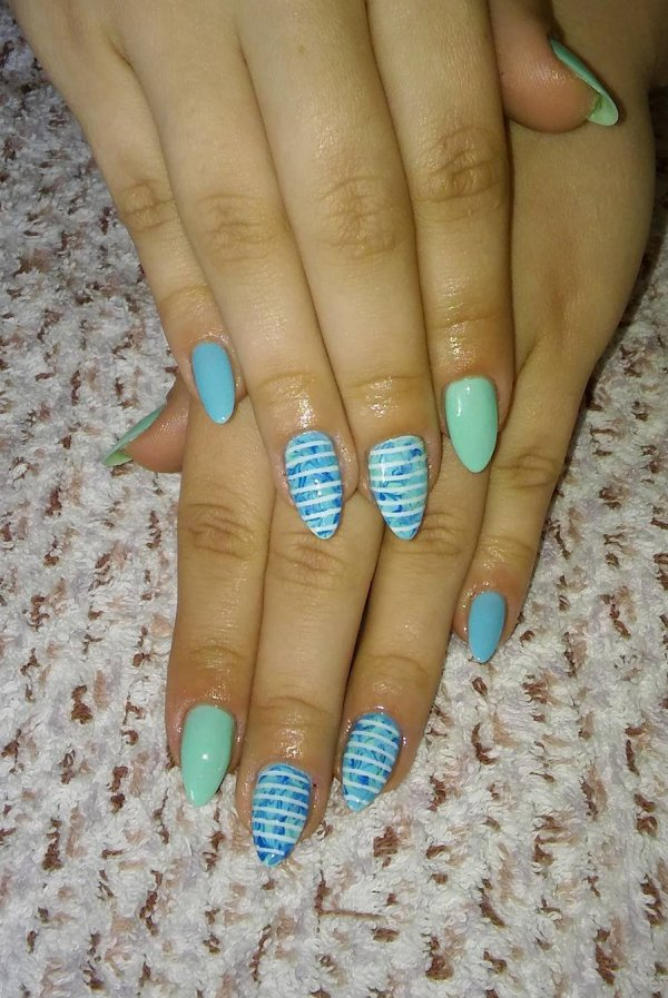 55 Stunning Summer Nail Art Designs