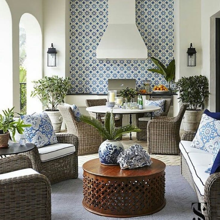 Exotic And Attractive Apartment Summer Decoration Idea