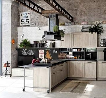 Fantastic Industrial Style Kitchen Summer Decor