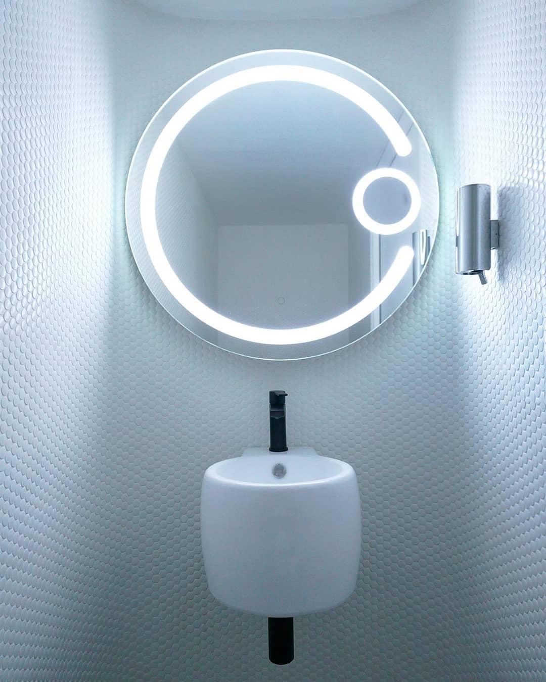 Innovative Round Backlit Mirror