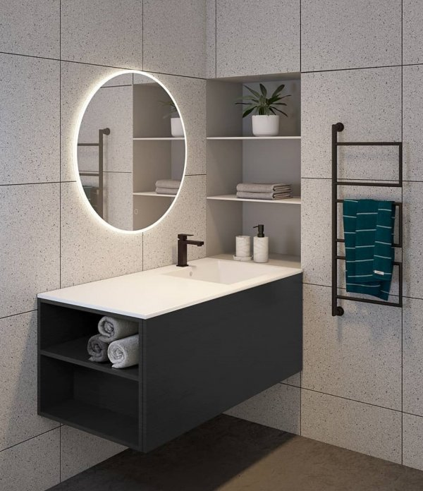 LED Mirror To Make A Bold Statement