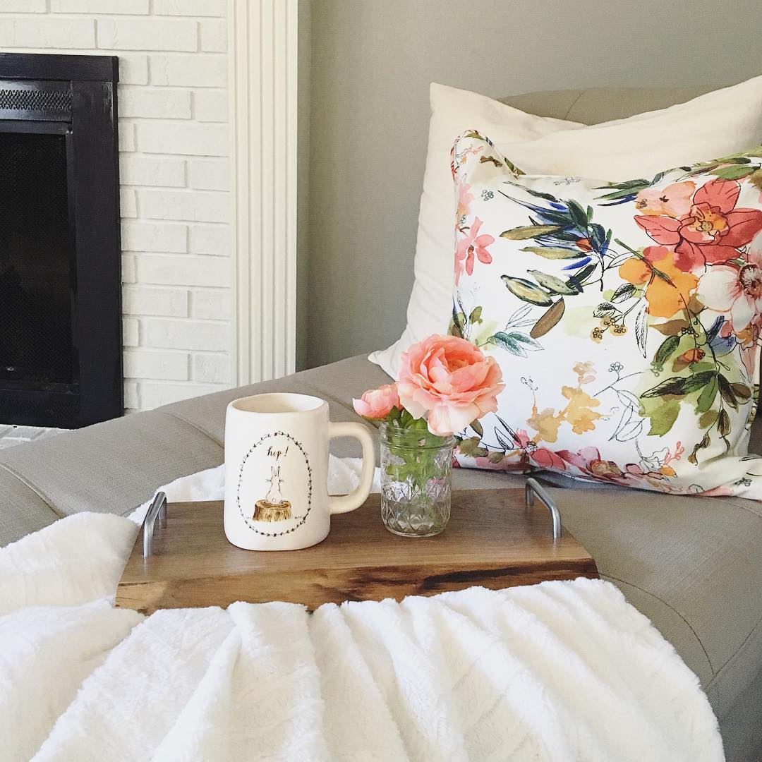 Love This Floral Print Pillow
