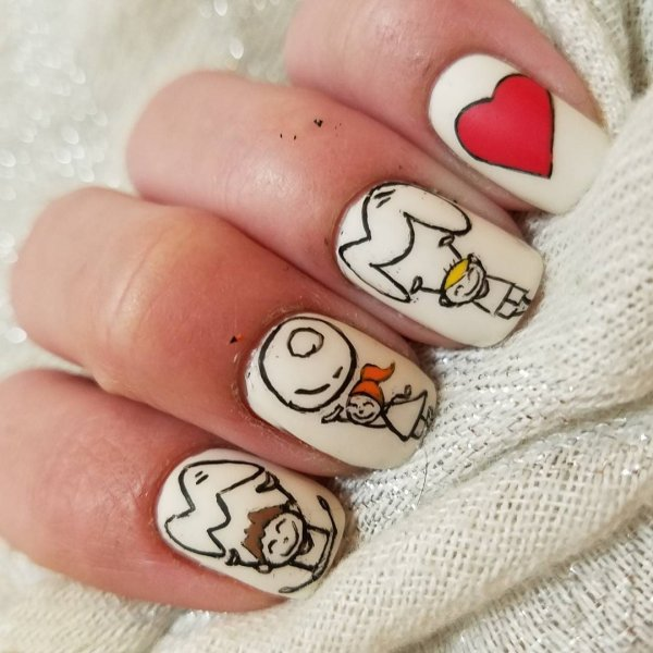 Adorable Mothers Day Manicure