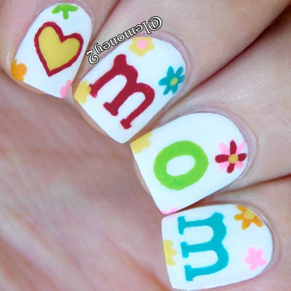 Amazing Mothers Day Nails