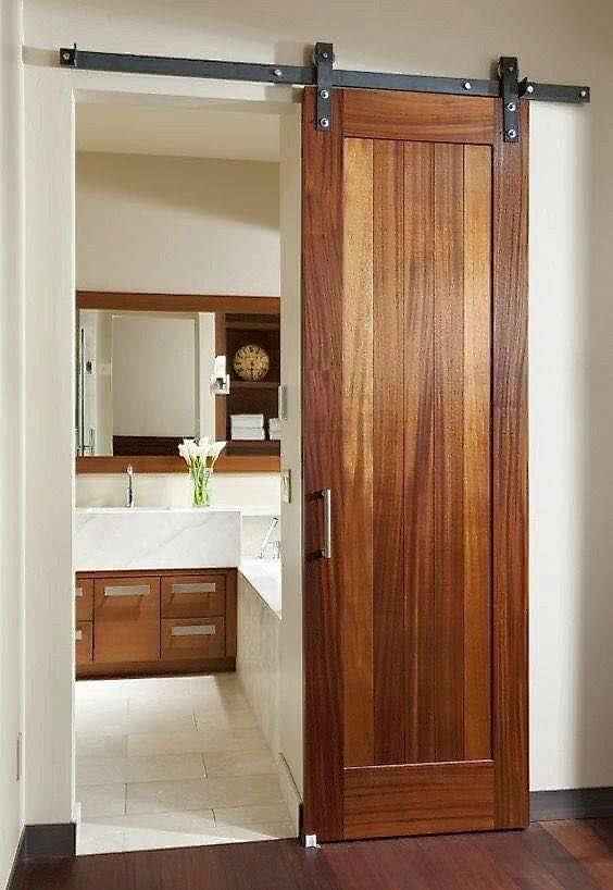 Awesome Idea To Use Sliding Door To Save Space