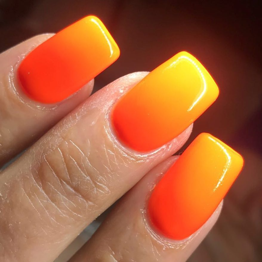 50 Easy And Glamorous Ombre Nail Art Design Ideas For Summer ...