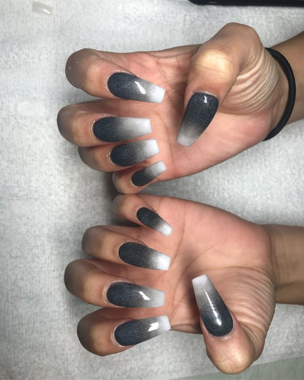 Perfect Ombre Nails White Mold - Nail Art Design Ideas ...