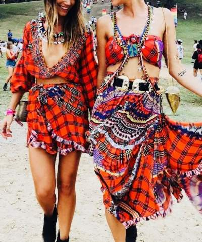 Bohemian Style Summer Outfits And Accessories