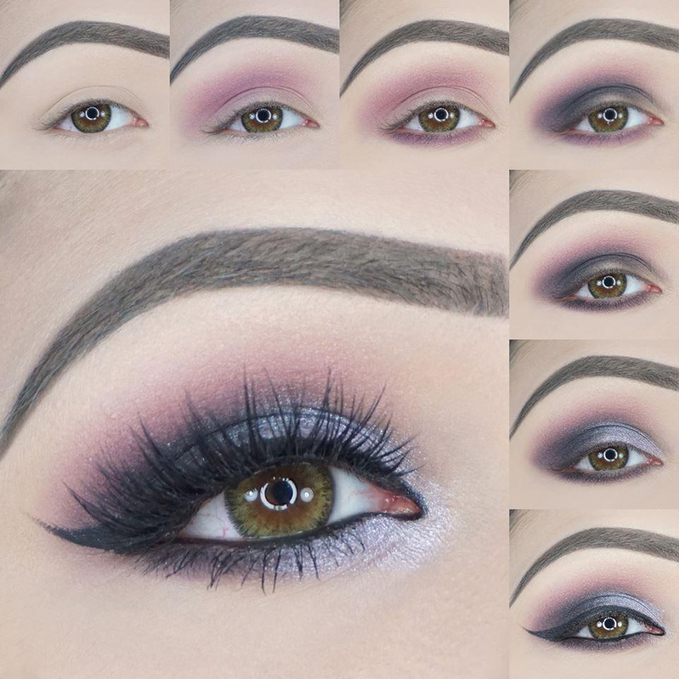 Breezing Lilac Smokey Eyes Tutorial