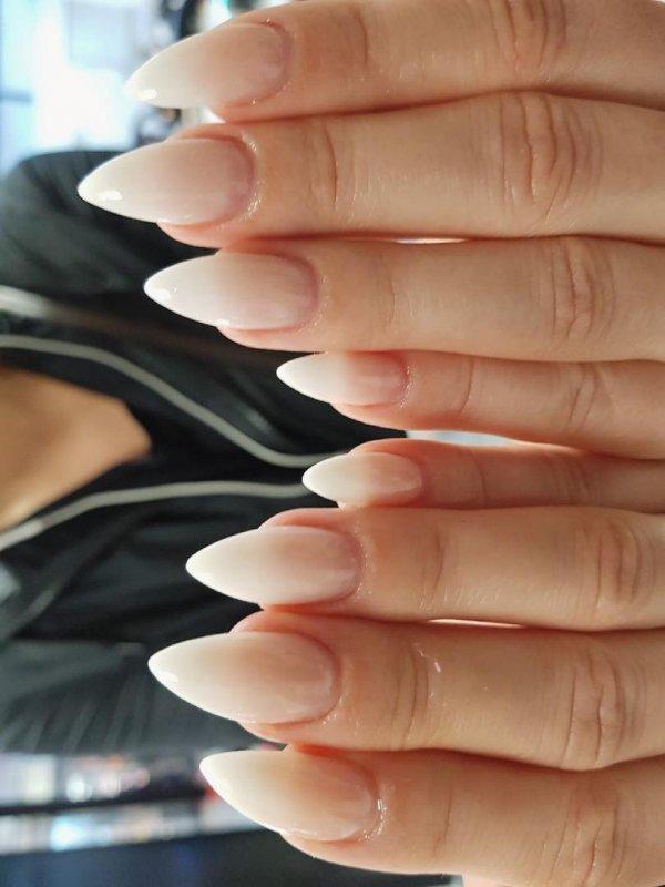 Charismatic Beige Nails