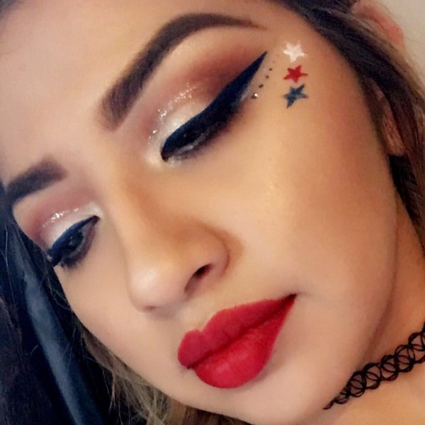 Charismatic Freedom Day Makeup